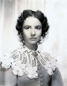 "Alicia Rhett in ""Gone With the Wind"""